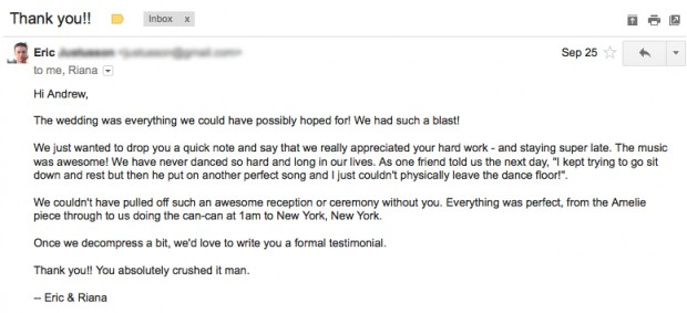 groom email