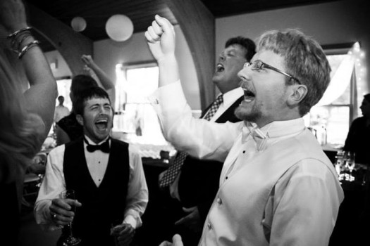 Wedding Reception at Treman STate Park