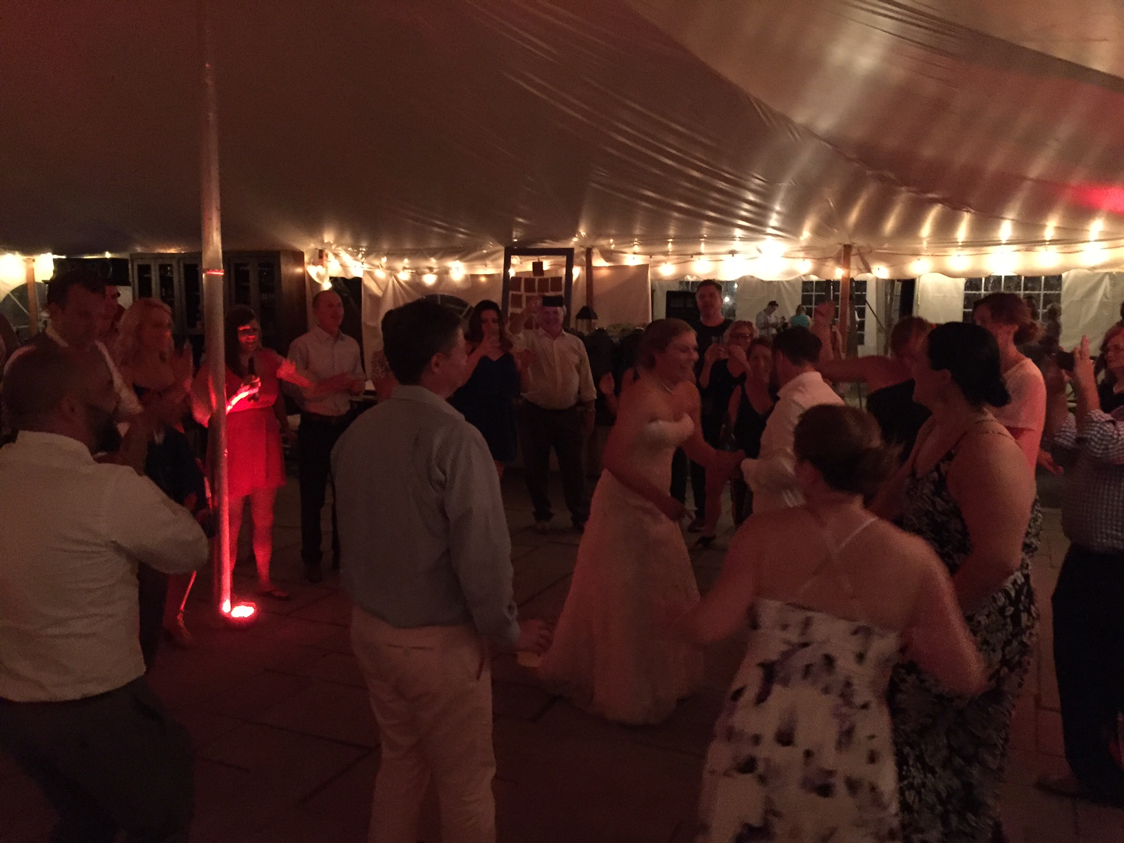 firelight camps wedding DJ